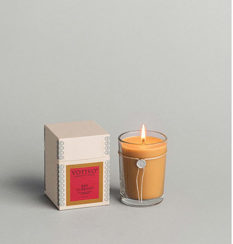 Votivo Red Currant Aromatic Aromatic Candle