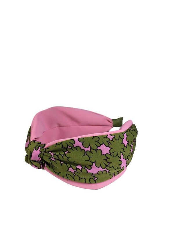 Pink and Green Floral Headband - My Secret Closet - Ladies Boutique New And Consignment
