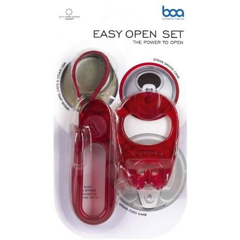 Boa  easy to open set - can and jars