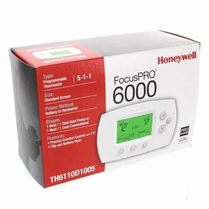 Honeywell TH6220D1028 Focuspro Programmable Thermostat - 2guysonline.ca
