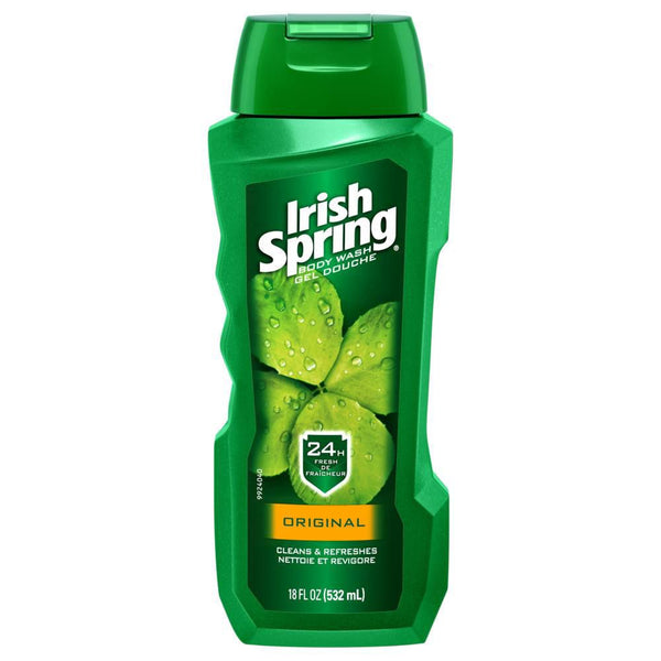 Irish Spring Men's Body Wash, Original 532 mL