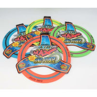 Air Max Flex Grip Ring Flyer - Frisbee Round Flying Disc Toy