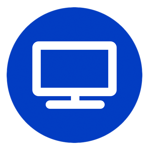 Icon of a computer monitor