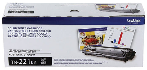 Brother Black Toner Cartridge (2500 Yield)