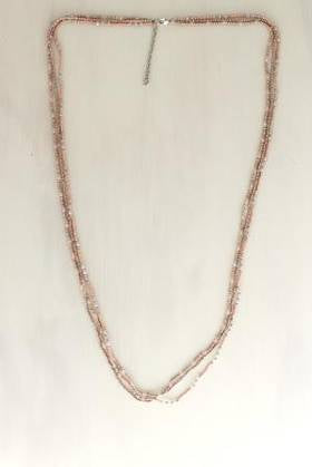 Pink Splash Necklace