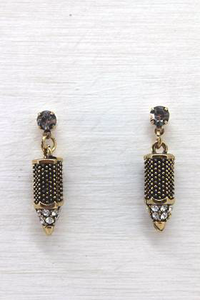 Nouveau Gold Earrings