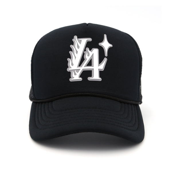 L.A. Blaze Trucker Hat (Black)
