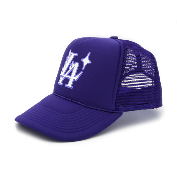L.A. Blaze Trucker Hat (Purple)