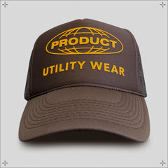 Utility Trucker Hat (Brown)