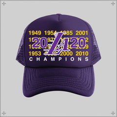 LAKERS 2020 CHAMPS  ✦ Trucker Hat