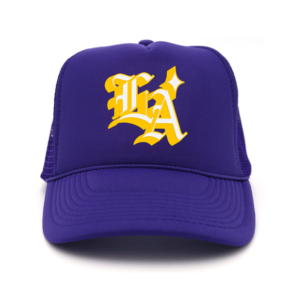 OG L.A. Trucker Hat (Purple)