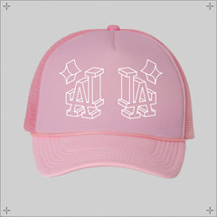 LA✦ WireFrame Trucker Hat