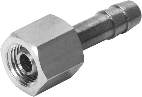 Barb Tubing Fitting - C-1/4-P-6 - Festo