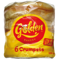 GOLDEN CRUMPETS ROUND 6 PACK