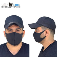 Fashion Black Masks (Washable)