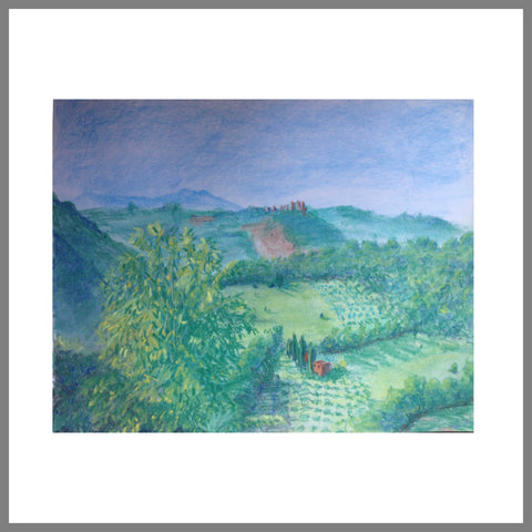 """Olive Groves In Toffia"""