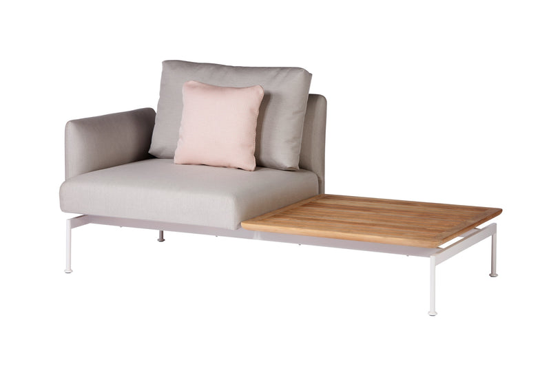 Barlow Tyrie Layout Deep Seating Solo Set - avec coussins