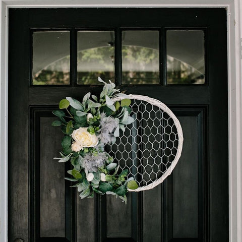 Couture Coop Wreath