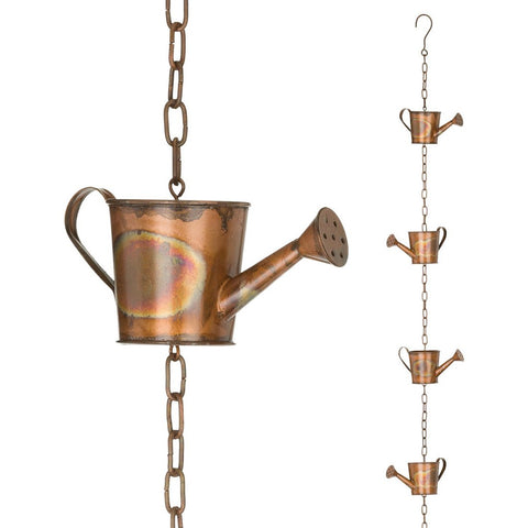 Rain Chain - Copper Watering Can