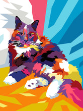 Load image into Gallery viewer, Colourful Pet Portrait