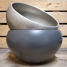 Load image into Gallery viewer, Glazed Low Bowl Planter