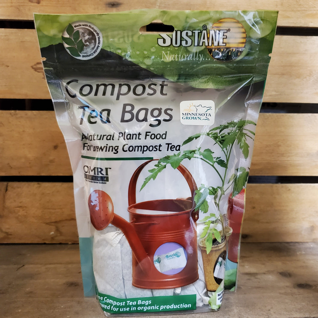 Sustane Compost Tea & Root Zone Feeder Packs