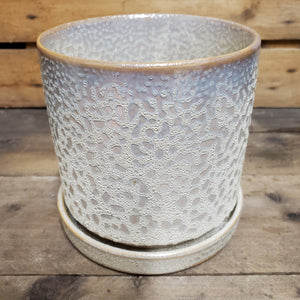 Big Minute Ivory Speckles Pot