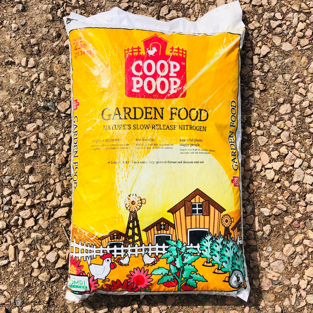 Coop Poop Fertilizer