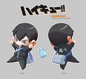 [Haikyuu] Tobio Candy Bag Charm