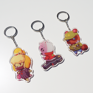 [AC] Animal Crossing Acrylic Charms