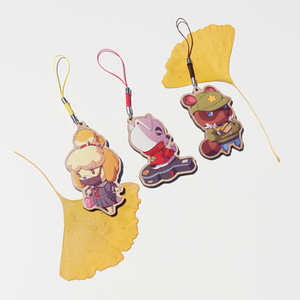 [AC] Animal Crossing Wooden Charms
