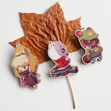 Load image into Gallery viewer, [AC] Animal Crossing Wooden Charms