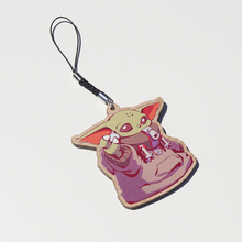 Load image into Gallery viewer, [SW] Baby Yoda Wooden Charm