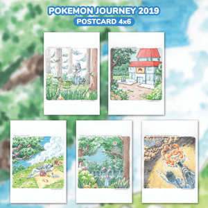 [PKM] Pokemon Journey 2019 Postcards