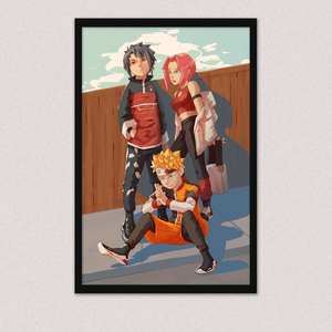 [Naruto] Team Seven Hypebeasts