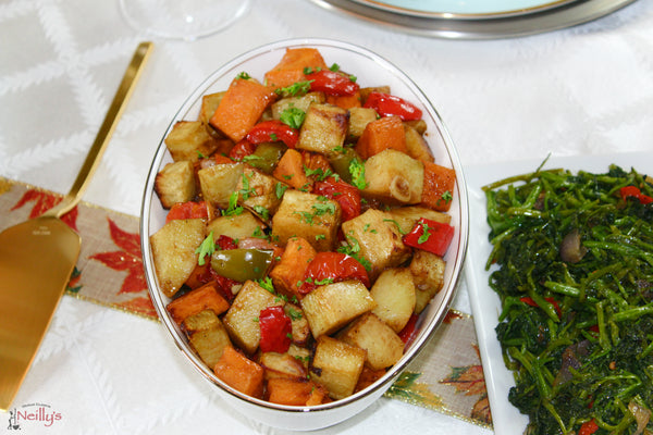 Roasted Sweet Potato Medley (Seasonal Vegetables)