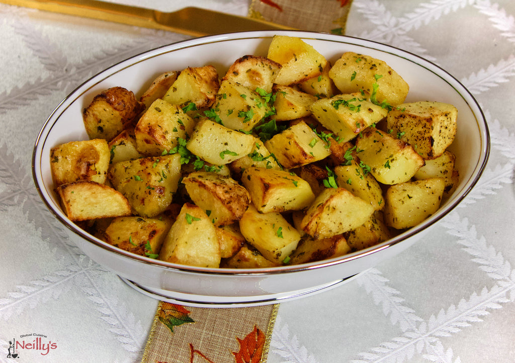 Roasted Golden Russet Potatoes