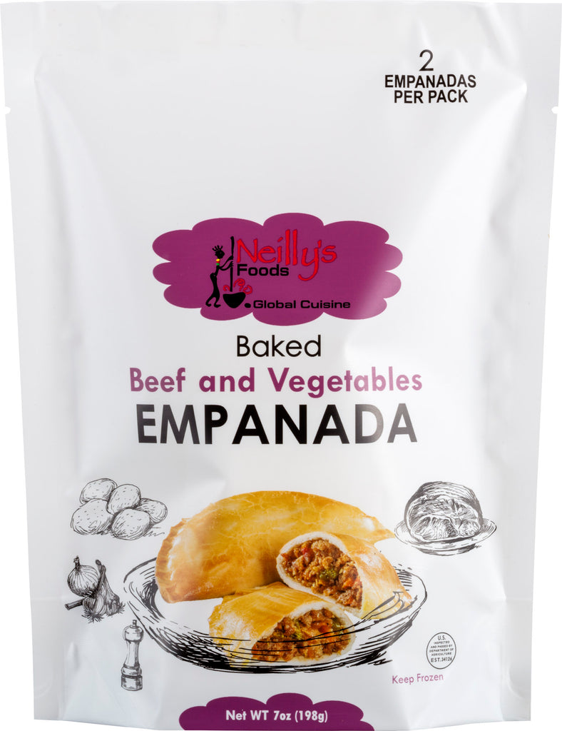 Beef and Vegetables Empanada