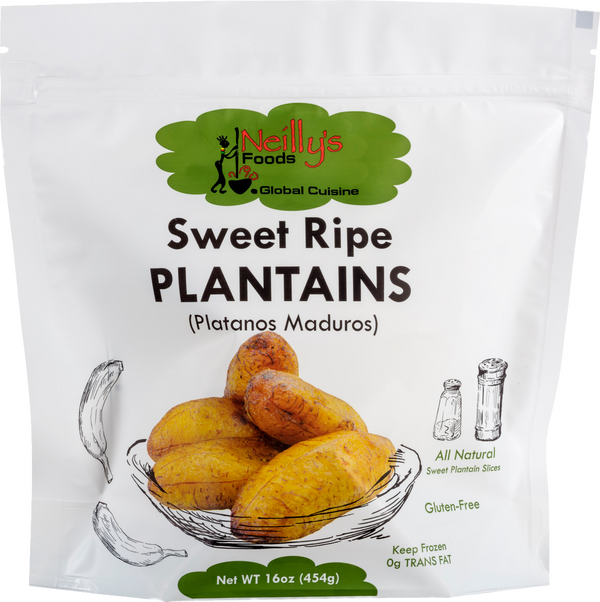Sweet Ripe Plantains (Case of 6)