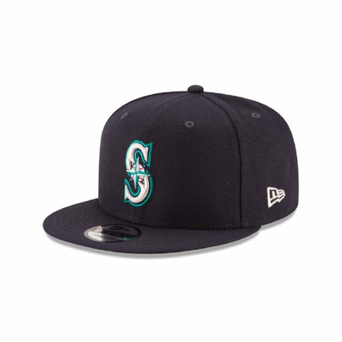 New Era Authentic Seattle Mariners Navy 9Fifty Snapback