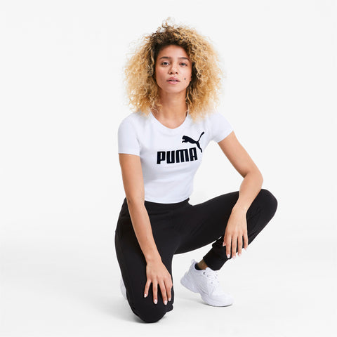 PUMA T-SHIRT ESS+FITTED TEE