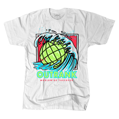 Outrank Worldwide Takeover- White / Worldwide