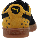Puma Suede Stars Sneakers Men Black-Gold Fusion