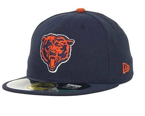 Chicago Bears New Era Classic 9FIFTY Snapback Adjustable Hat - Orange/Navy