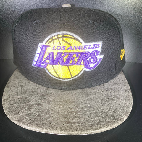NEW ERA LAKERS RUSTIC 9FIFTY SNAPBACK
