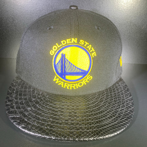 NEW ERA PEBBLE GOLDEN STATE 9FIFTY SNAPBACK