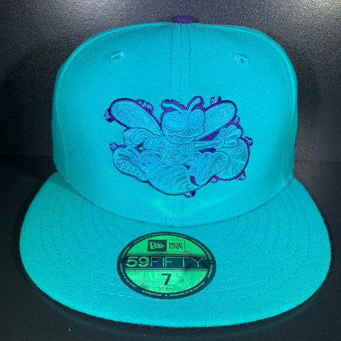NEW ERA FINE SIDE HORNETS 59FIFTY FITTED