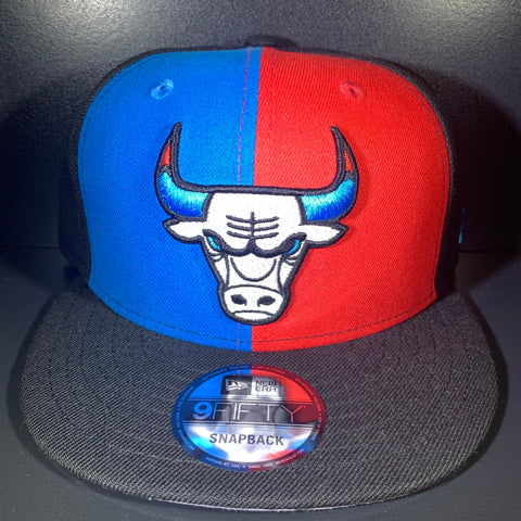 NEW ERA BULLS RED/ROYAL 9FIFTY SNAPBACK