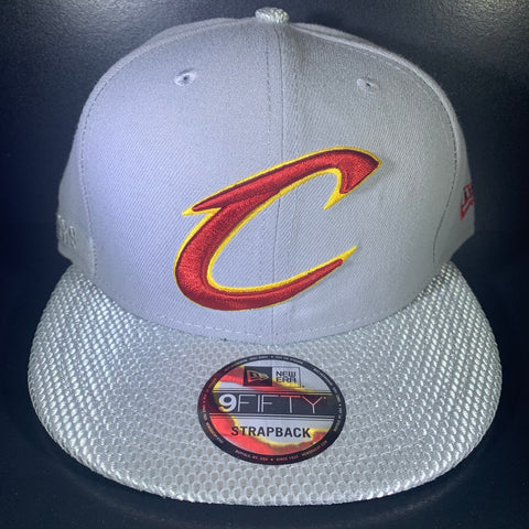 NEW ERA CLEVELAND SAVVY STRAP HEATHER 9FIFTY SNAPBACK