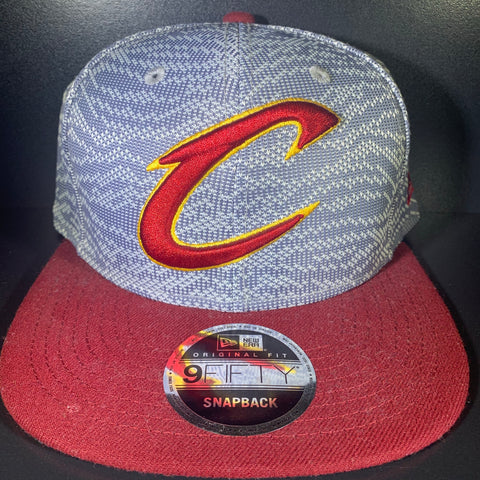 NEW ERA CLEVELAND WEAVE MIX 9FIFTY SNAPBACK